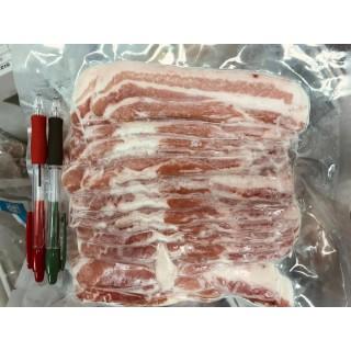 西班牙杜洛克豬腩片(Sliced Belly)